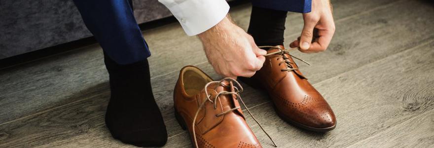 chaussures idéales à accorder avec un costume